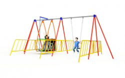a011-001---abilityswing-with-1-flat-seat-&-children
