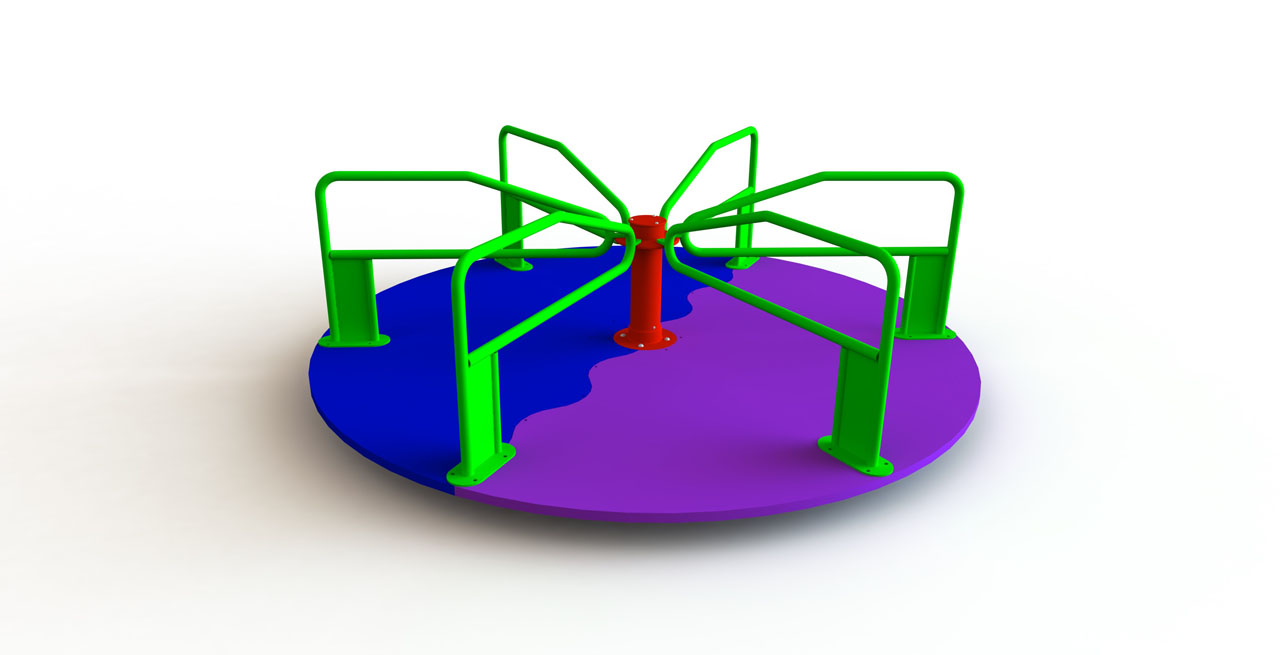 GL Jones Playgrounds - 2.4m diameter Whirling Platform