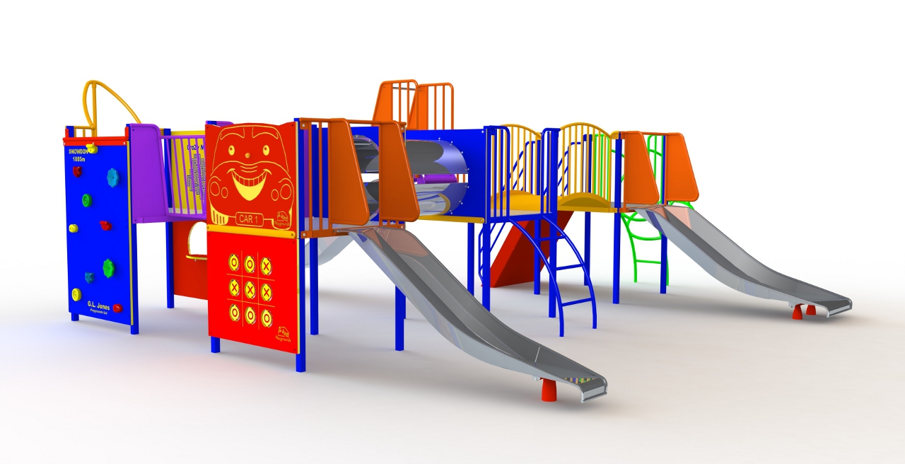 GL Jones Playgrounds - Pendalar Unit - Inclusive Play Unit