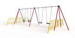 a004_014_2.4m_swing_2_flat_2_cradle_2_guards_front